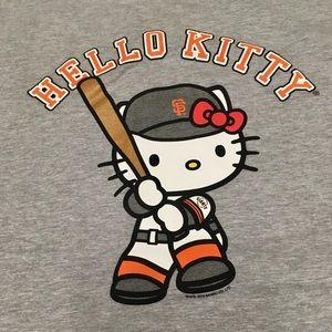Hello Kitty San Francisco Giants Shirt XL